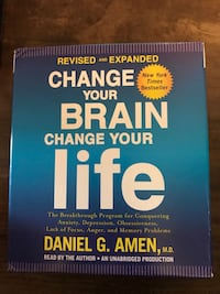 Audio book cd - change your brain change your life  Columbia, 21046