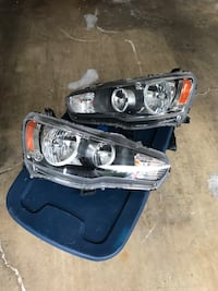 Evo x headlights OEM