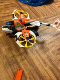 Orange and white elite rescue helicopter toy Western Springs, 60558