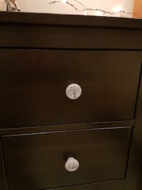 Brown Ikea nightstand--moving sale, must go! VANCOUVER