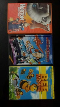 3 DVD's/Movies for $5