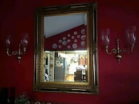 Mirror  and sconces Raleigh, 27606