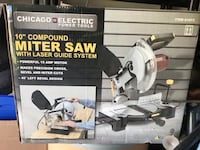 """10"""" miter saw with laser guide rarely used like new Plano, 75093"""