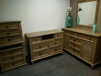 brown wooden dresser with mirror Laguna Hills, 92653