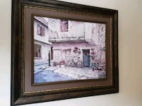 Painting wood frame. Whitchurch-Stouffville