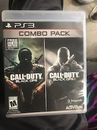 PS3 Call of Duty Black Ops and I and 2 combo Clifton, 81520
