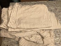 Pottery Barn Queen duvet and pillow cases Chevy Chase, 20815