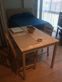 SUPER SALE!! Dining table and two chairs Washington