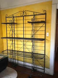 Bakers rack 6ft tall x 5 ft wd Los Angeles, 90026