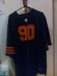 black and red NFL jersey Cicero, 60804