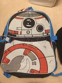NEW Star Wars backpack AND lunch bag