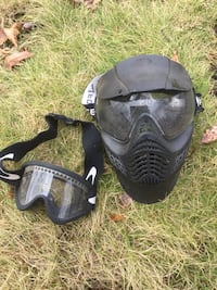 Mask and goggles for paintball  Middlebury, 06762