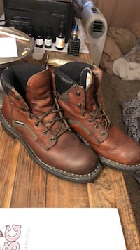 Red Wing 6in Lace Ups Style 926 Size 10B