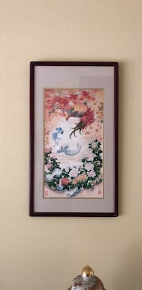 japanese framed print Diamond Bar