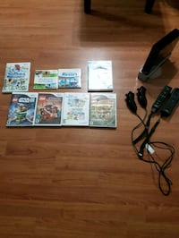 Wii with games Pitt Meadows, V3Y 1R7