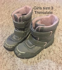 Girls winter boots thinsulate Hamilton, L9C 0C7