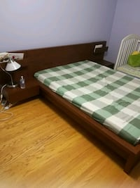 Ikea Bed frame with headboard and storage Toronto, M1S 1P4