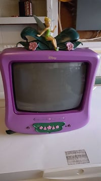 Disney Tinkerbell TV/DVD with remote. Barrie, L4M 5L9