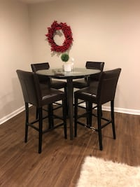 Crate and Barrel High Top Dining Table Set Clarksburg, 20871