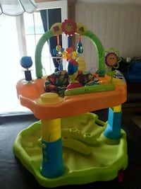 baby's yellow and green activity center Shelton, 06484