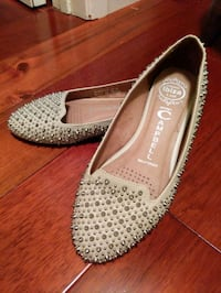Jeffrey Campbell Martini Spiked Flats Mississauga