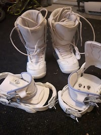 Snowboard boots and bindings Kelowna, V1Y 7K6
