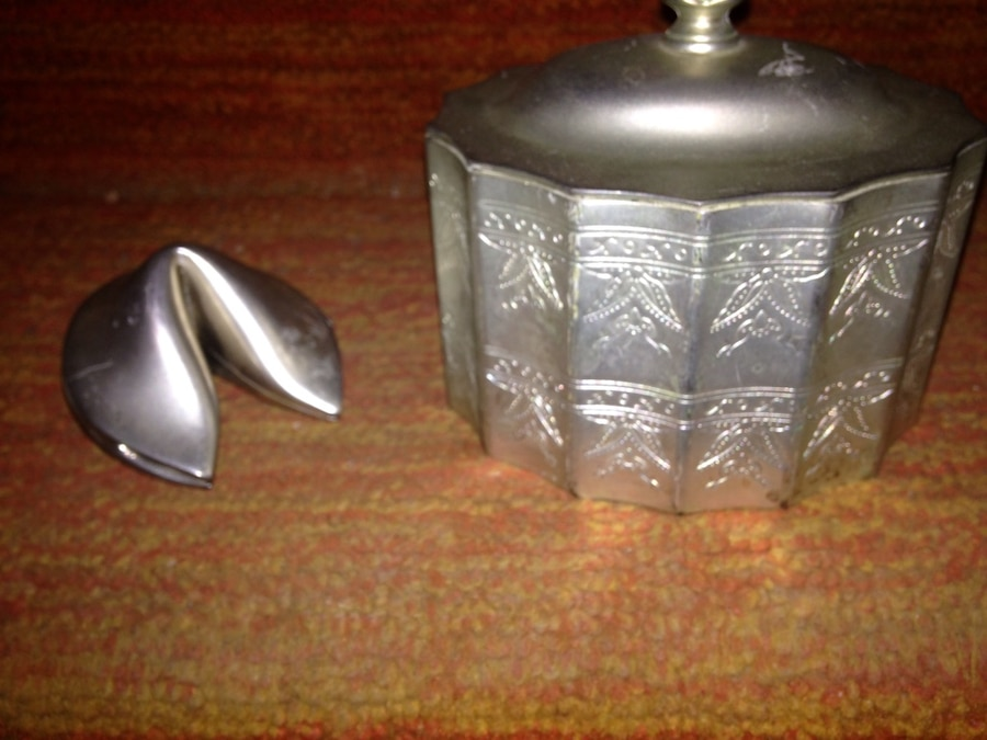 silver plated gottinger tea caddy jewelry box trinket box rh es letgo com