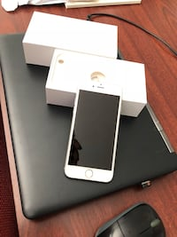 gold iPhone 6 with box Raleigh, 27615