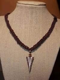 New Handmade Arrowhead brown Necklace  Layton, 84040