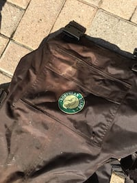 Chest Waders- size 12& 8. Only used a couple of times. Insulated  Barrie, L4N 5J1