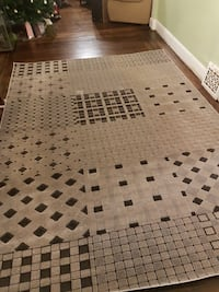 8' X 11' area rug from leons