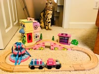 Cute girl's train/track/house/ Set  Pace, 32571