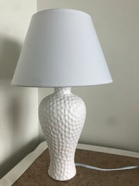 white and gray table lamp 929 mi