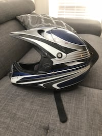 Fox Motor cross Riding Helmet  North Vancouver, V7M 1E5