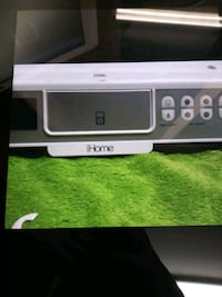 IHome lh36w clock radio with apple dock cradle White Yonkers, 10705