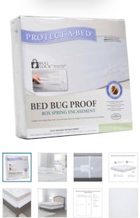 2 Bed bug proof box spring encasements Toronto, M5N 1J2