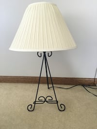Lamp with frame holder Howell township, 48855