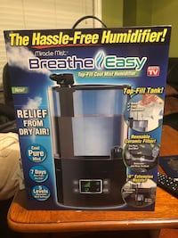 Miracle Mist Breathe Easy Humidifier - New
