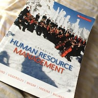 Canadian Human Resource Management book Mississauga, L5M 7N2