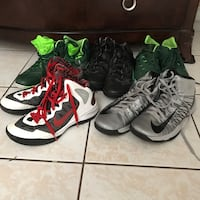 Basketball shoes (30 for all 5)