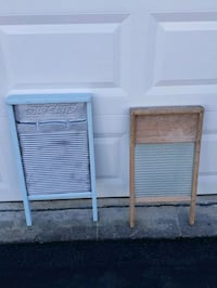 2 antique washboards Fairfax, 22030