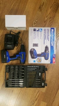 Mastercraft Cordless 18V Drill/driver With 50 Accessories kit