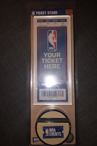 Basketball ticket stand