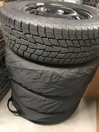 Nearly New Snow Tires for 2010-17 Chevy Equinox/GMC Terrain 542 km