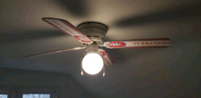 Montreal Canadiens ceiling fan