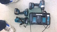Set of Makita 18 volt tools.  Asheville