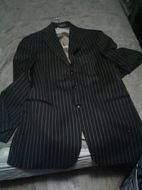 Black with strips tuxedo large fits like a medium  Waterloo, N2L 4T1