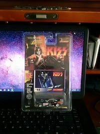 Kiss band car die cast scale model