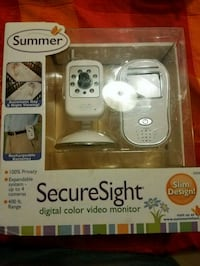 white and gray Vtech digital video monitor Fairfield, 94533