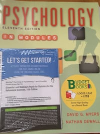 PSYCHOLOGY 1010 TEXTBOOK Vaughan, L4K